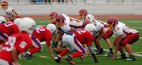 M-A Freshmen Football v St. Ignatius 15Sept2012