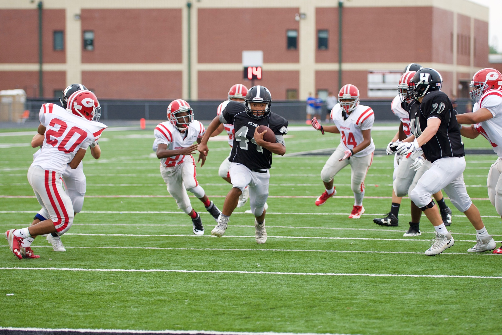 Freshman vs. Germantown 8/17