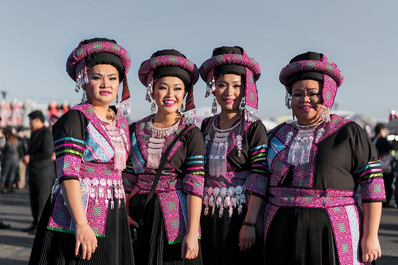 colorful hmong.