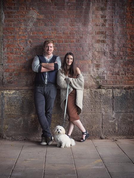 Freyana & Tom's London Pre-Wedding Shoot