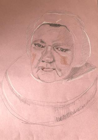 """After Hals' """"Portrait of a Woman"""""""