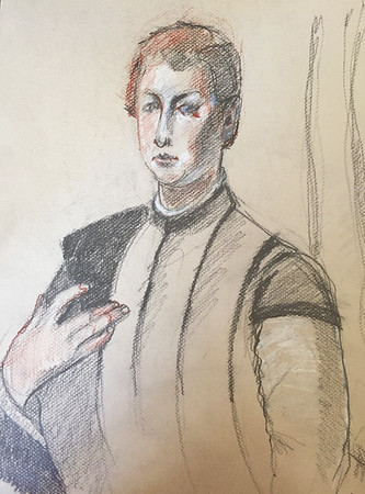 "After Bronzino's ""Lodovico Capponi"""