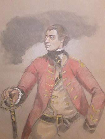 """After Reynold's """"General John Burgoyne"""""""