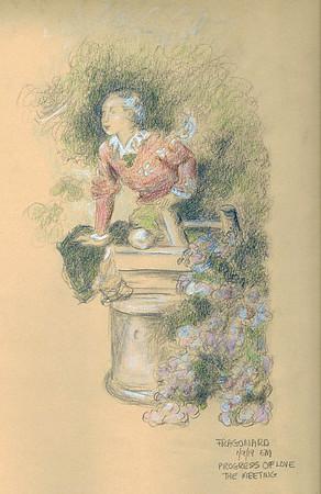 "After Fragonard's ""The Progress of Love: The Meeting"""