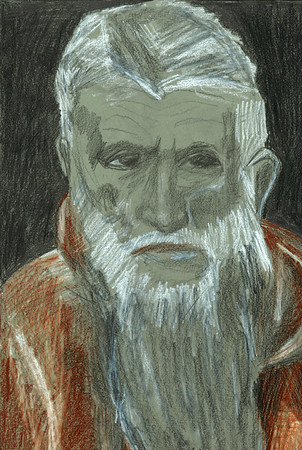 """After El Greco's """"St. Jerome"""""""