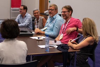 22nd International AIDS Conference (AIDS 2018) Amsterdam, Netherlands.   Copyright: Steve Forrest/Workers' Photos/ IAS  Photo shows: HIV Co-Infections and Co-Morbidities Working Group.
