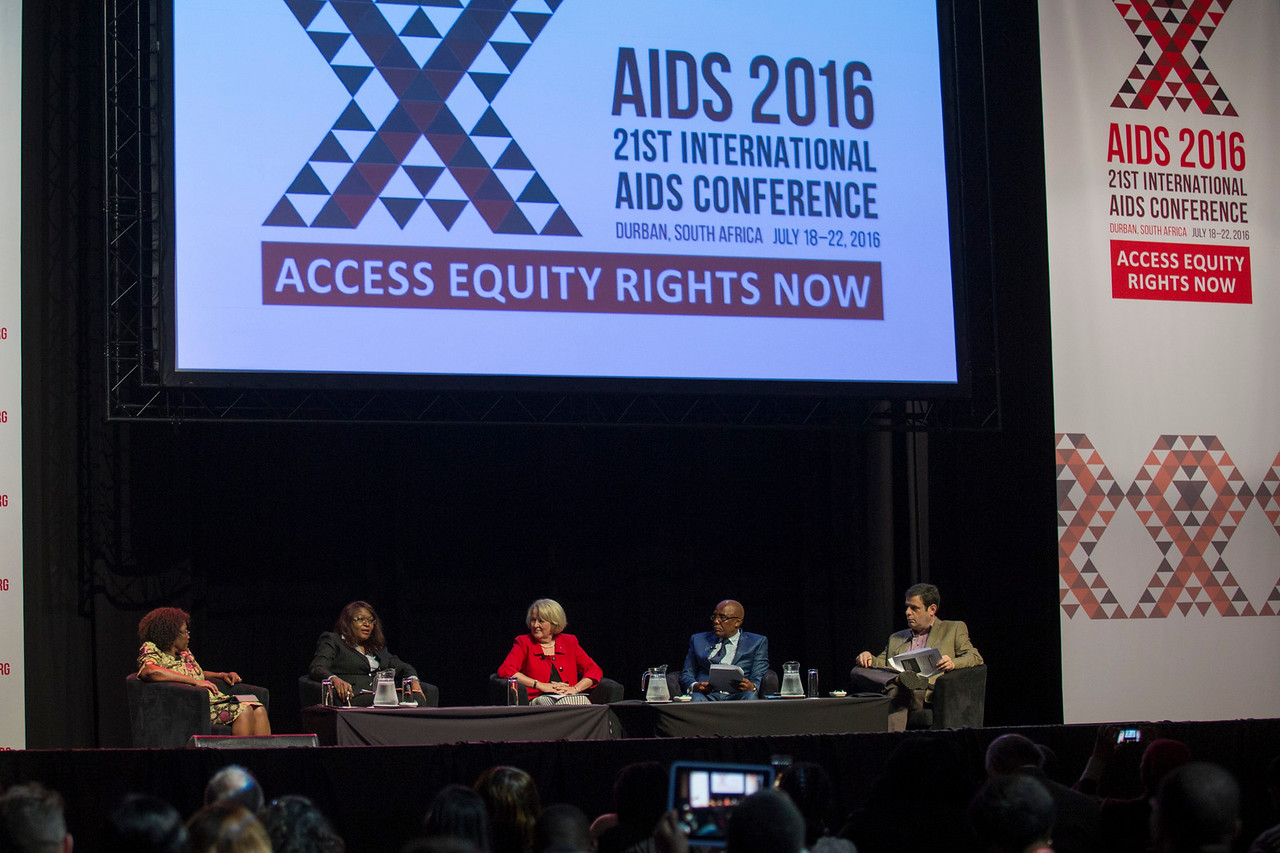 21st International AIDS Conference (AIDS 2016), Durban, South Africa. How do we get there? (FRPL0105) What's New, What's Next, What's Ahead?  Carlos del Rio, Emory University, United States speaks, 22 July, 2016. Photo©International AIDS Society/Rogan Ward