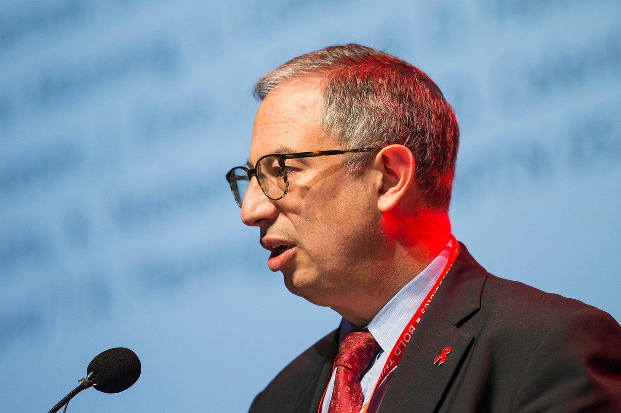 21st International AIDS Conference (AIDS 2016), Durban, South Africa. How do we get there? (FRPL0105) What's New, What's Next, What's Ahead?  Carlos del Rio, Emory University, United States speaks, 21 July, 2016. Photo©International AIDS Society/Rogan Ward