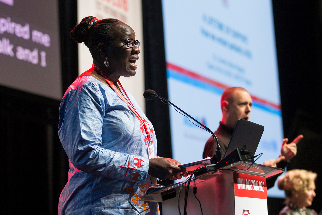 21st International AIDS Conference (AIDS 2016), Durban, South Africa. How do we get there? (FRPL0103) A Lifetime of Support: How We Ended Paediatric AIDS  Dorothy Mbori-Ngacha, UNICEF, Nigeria speaks, 21 July, 2016. Photo©International AIDS Society/Rogan Ward
