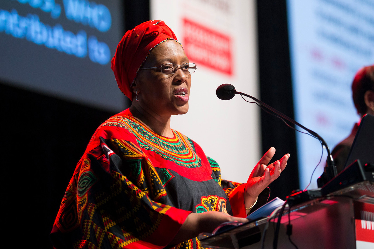 21st International AIDS Conference (AIDS 2016), Durban, South Africa. How do we get there? (FRPL0104) Essential Medicines, Intellectual Property and Access  Precious Matsotso, Department of Health, South Africa speaks, 21 July, 2016. Photo©International AIDS Society/Rogan Ward