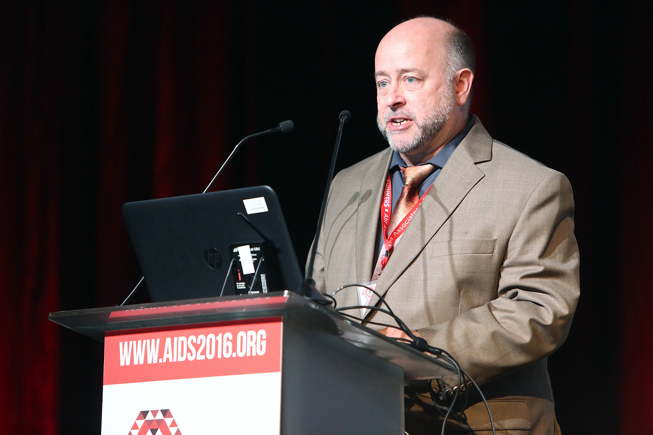 21st International AIDS Conference (AIDS 2016), Durban, South Africa. AIDS 2016 Pre-Conference Report Back (FRSS02) Friday 22nd July 2016 : Venue - Durban ICC - Session Room 7 Theo Smart, Journalist, United States  Photo©International AIDS Society/Abhi Indrarajan