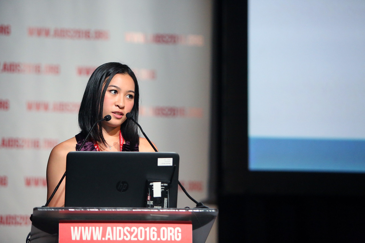 21st International AIDS Conference (AIDS 2016), Durban, South Africa. AIDS 2016 Pre-Conference Report Back (FRSS02) Friday 22nd July 2016 : Venue - Durban ICC - Session Room 7 Lianping Ti, British Columbia Centre for Excellence in HIV/AIDS, Canada  Photo©International AIDS Society/Abhi Indrarajan