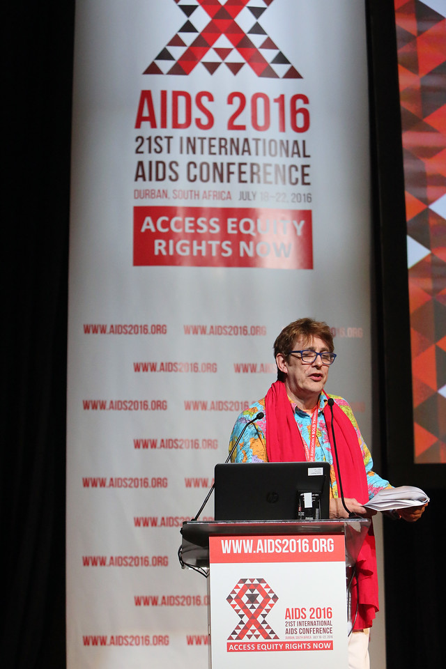 21st International AIDS Conference (AIDS 2016), Durban, South Africa. AIDS 2016 Pre-Conference Report Back (FRSS02) Friday 22nd July 2016 : Venue - Durban ICC - Session Room 7 Julian Vincent Hows, GNP+, Netherlands  Photo©International AIDS Society/Abhi Indrarajan