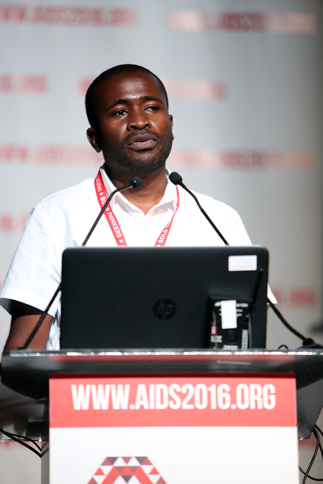 21st International AIDS Conference (AIDS 2016), Durban, South Africa. AIDS 2016 Pre-Conference Report Back (FRSS02) Friday 22nd July 2016 : Venue - Durban ICC - Session Room 7 Tongai Maponga, University of Stellenbosch, South Africa  Photo©International AIDS Society/Abhi Indrarajan