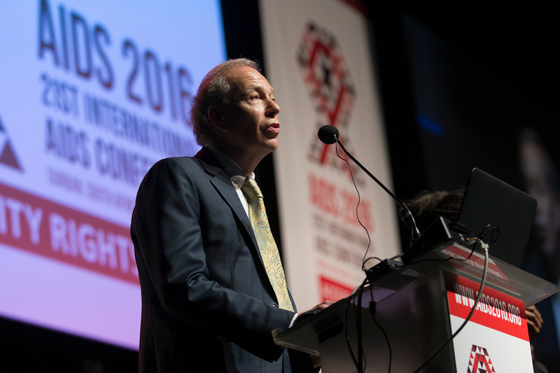 21st International AIDS Conference (AIDS 2016), Durban, South Africa. Rapporteur & Closing Session (FRPL0208) Looking ahead to AIDS 2018  Peter Reiss, University of Amsterdam, Netherlands (FRPL0215), 22 July, 2016. Photo©International AIDS Society/Rogan Ward