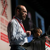 21st International AIDS Conference (AIDS 2016), Durban, South Africa.<br /> Rapporteur & Closing Session (FRPL0208)<br /> Community partners address <br /> Svitlana Moroz, Eurasian Women's Network on AIDS, Ukraine <br /> Duncan Moeketse, Global Network of Young People Living with HIV (Y+), South Africa <br /> Gennady Roshchupkin, Eurasian Coalition on Male Health, Ukraine (FRPL0214), 22 July, 2016.<br /> Photo©International AIDS Society/Rogan Ward