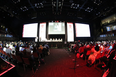 21st International AIDS Conference (AIDS 2016), Durban, South Africa. Rapporteur & Closing Session Friday 22nd July 2016 : Venue - Durban ICC - Session Room 1 Audience Photo©International AIDS Society/Abhi Indrarajan