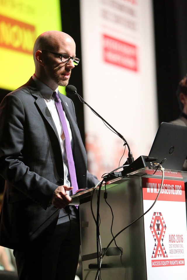 21st International AIDS Conference (AIDS 2016), Durban, South Africa. Rapporteur & Closing Session Friday 22nd July 2016 : Venue - Durban ICC - Session Room 1 Owen Ryan, International AIDS Society, Switzerland  Photo©International AIDS Society/Abhi Indrarajan