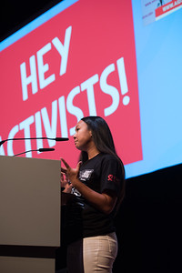 22nd International AIDS Conference (AIDS 2018) Amsterdam, Netherlands   Copyright: Marcus Rose/IAS  Photo shows: AIDS 2018 pre-conference report back. Community Activist Summit: Reigniting the Fight for Quality Along the Continuum of Prevention, Care and Treatment Trisa Taro, International Treatment Preparedness Coalition, United States