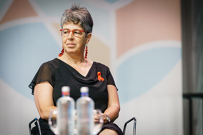 22nd International AIDS Conference (AIDS 2018) Amsterdam, Netherlands.   Copyright: Matthijs Immink/IAS  Building bridges for the next generation   On the photo: Reina Buijs
