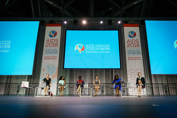 22nd International AIDS Conference (AIDS 2018) Amsterdam, Netherlands.   Copyright: Matthijs Immink/IAS  Building bridges for the next generation   On the photo: