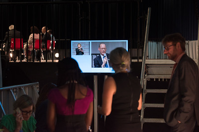 22nd International AIDS Conference (AIDS 2018) Amsterdam, Netherlands   Copyright: Marcus Rose/IAS  Photo shows: Seizing the moment for TB: Current challenges in TB care and in TB and HIV integration. People watch panel discussion back stage.