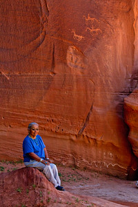 Sallie Yazzie, Canon de Chelly, Arizona