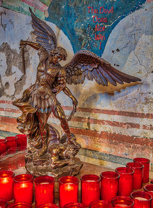 St. Michael Archangel defeats the Devil.