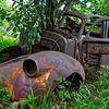 Steel Flower Pot - Zimbabwe