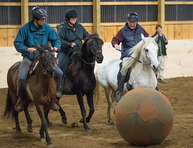 Friday Night Horse Soccer at Forest Gait Farm