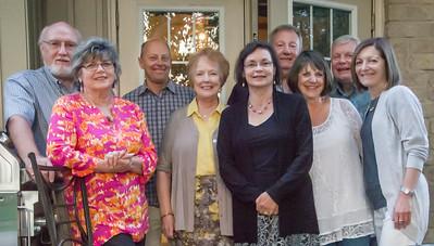Carm, Judy, Gary, Helen, Maggie, Wes, Diane, Julian, Frances