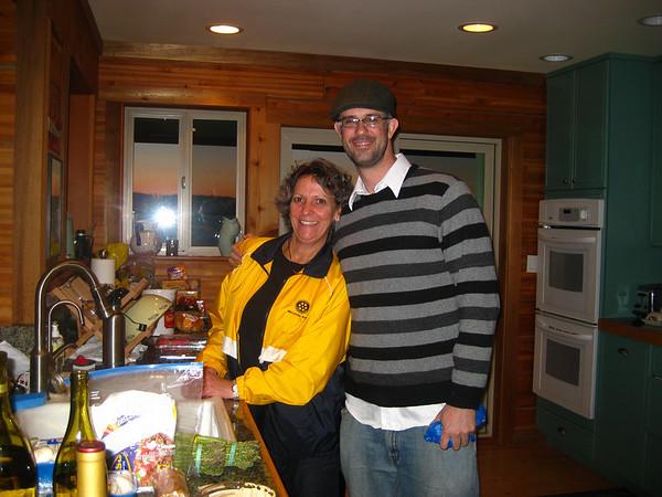 Linda's Birthday Dinner 3/5/10