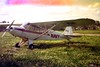 1974 - The tow aircraft used on the gliding course.