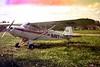 1974 Glider training - Glider tug plane