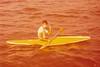 Andrew (Milton) Holland Kayaking across Jervis Bay