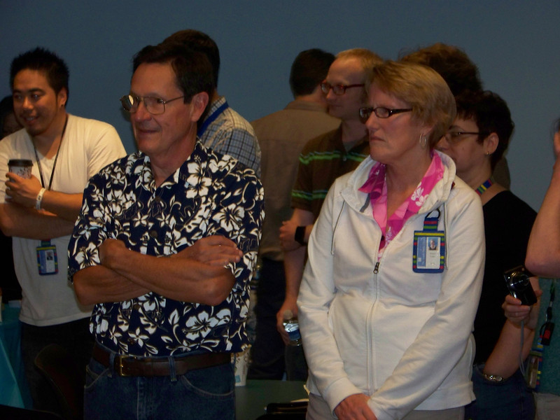 At left is SPL retiree--and Megan's husband--Jim Taylor.<br /> [Megan's retirement party - August 1, 2013]