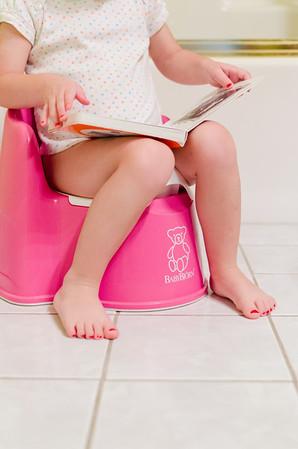 molly potty training