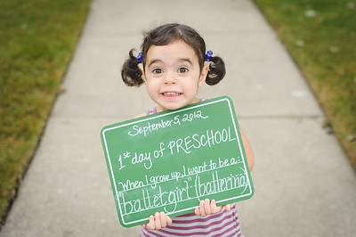 1st day preschool