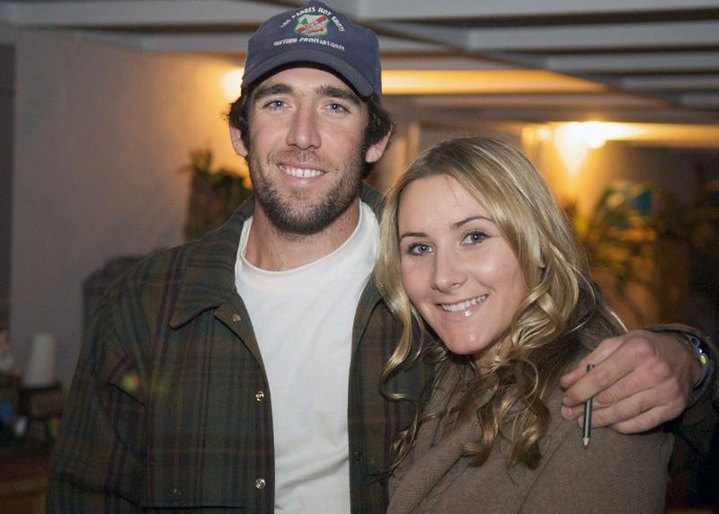 Nephew Jason and friend Mattie