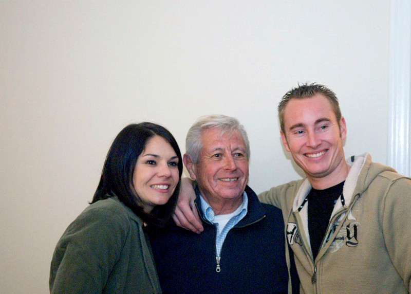 My niece Stacie with her father, Tony and brother, Justin