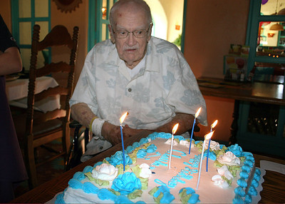 1/11/09 - Claude's 92nd birthday