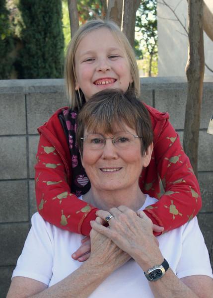 Grandma Suzi with Betsy