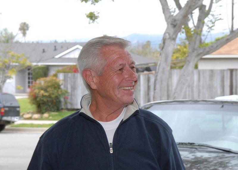 My brother-in-law, Tony.  HAPPY BIRTHDAY, TONY!!