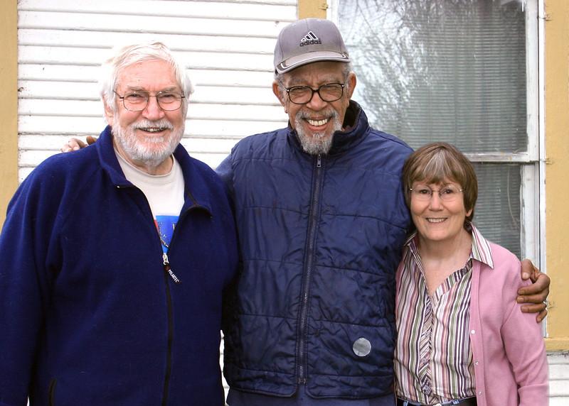 Mike, Alton Davis and Susan