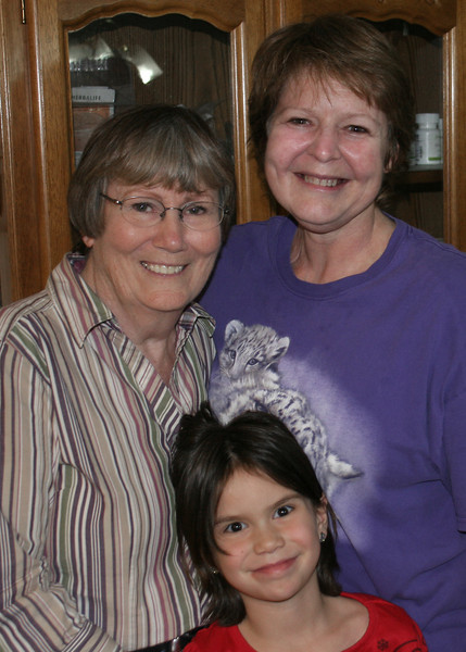 Susan with our daughter Sherry and granddaughter Astali