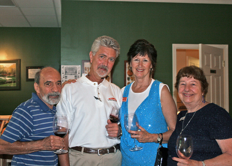 Joe Scerbo, Keith and Carnie Wall and Marion Conroy.  Joe and Carnie are members of the Mountain Networking Referral Group.