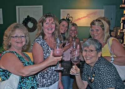 7-20-12 Mountain Networking Referral Group Wine Tasting