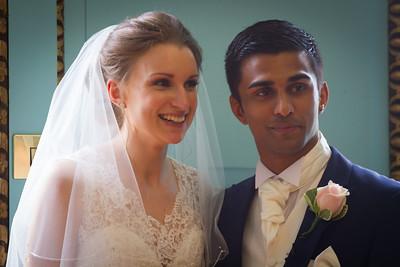 Louise & Ramesh  Wedding