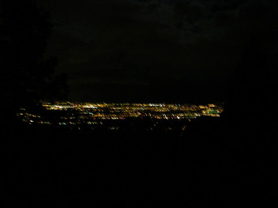 Must be Colorado Springs - taken without a tripod.