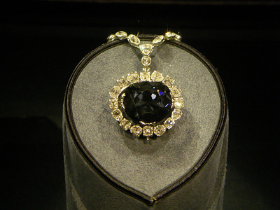 I loaned the museum the Hope Diamond!